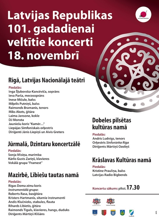18. novembra koncerti