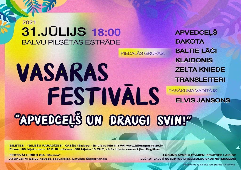 Vasaras festivals